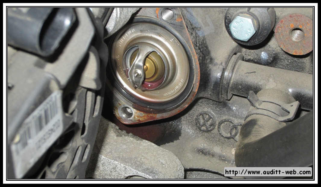 How To Replace Thermostat On A 2012 Audi A7